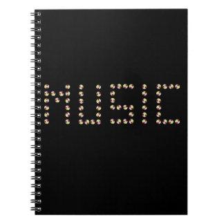 Music CDs Notebook