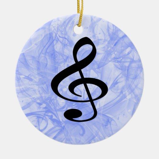 Music Ceramic Ornament