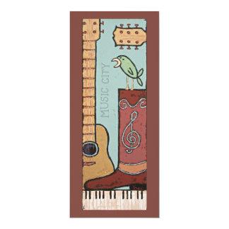 music city flat cards