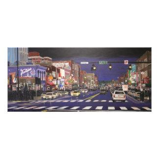 Music City Lights Rack Card