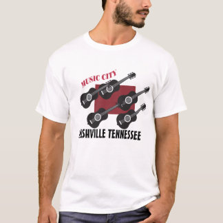 Music City, Nashville Tennessee T-Shirt