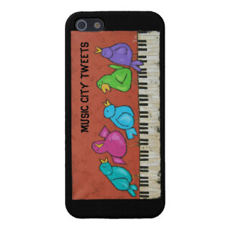Music City Tweets iPhone 5 case