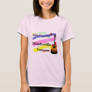 Music City Usa T-shirt at Zazzle