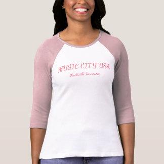 Music City USA - women's t-shirt
