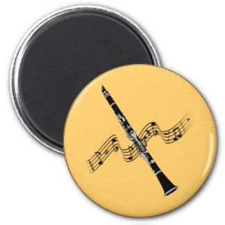 MUSIC: Clarinet Music Fridge Magnets