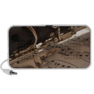 Music Clarinets Musical Notes Destiny Dance Fun Notebook Speaker