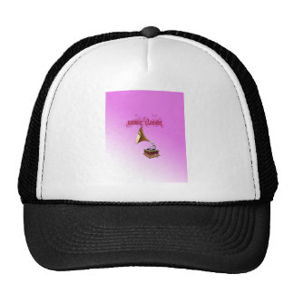 Music Classic With Background Trucker Hat