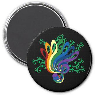 Music Clef Bouquet Magnet