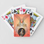 Music, clef card deck