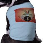 Music, clef dog t-shirt