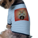 Music, clef doggie t-shirt