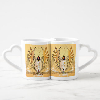 Music clef lovers mugs