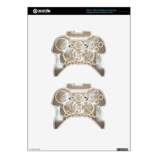 Music, clef xbox 360 controller decal