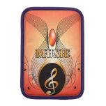 Music, clef sleeve for iPad mini
