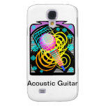 Music Clip Art Text Underneath Template Galaxy S4 Covers