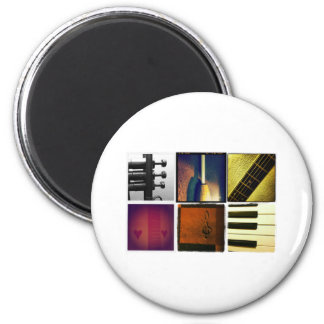 Music Collage Magnet
