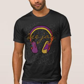 music color dj headphone T-Shirt