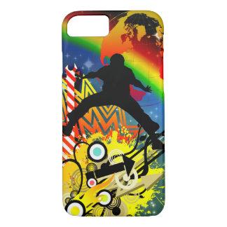 Music colorful illustration iPhone 8/7 case