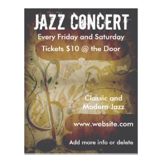 Music Concert Music Note Flyer