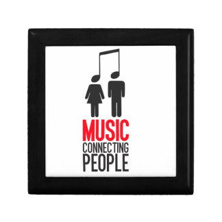 Music Connecting People Jewelry Box