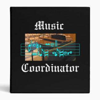 Music Coordinator Binder