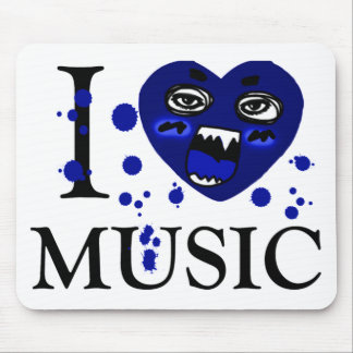 Music Crazy_ Mouse Pad
