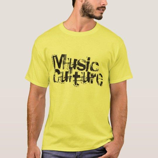 Music Culture DJ T-Shirt