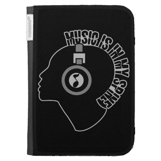 Music custom color Kindle case