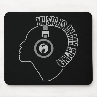Music custom color mousepad