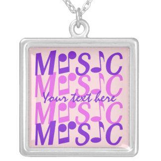 MUSIC custom necklace