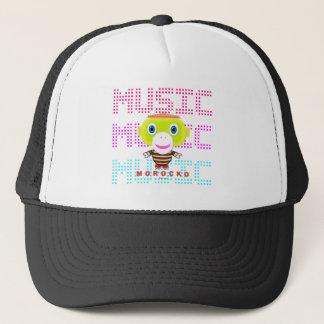 Music-Cute Monkey-Morocko Trucker Hat