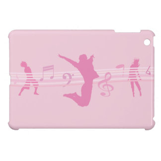 Music Dance and Drama Pink Cover For The iPad Mini