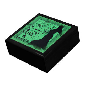 MUSIC & DANCE Keepsake Box
