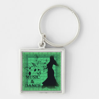 MUSIC & DANCE Keychain