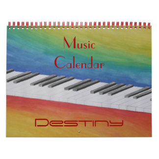Music Dance Peace Love Party Destiny Digital Calendar