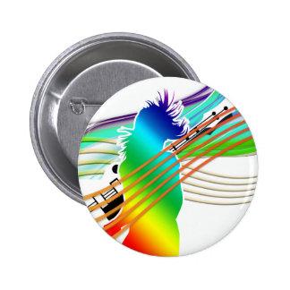 Music Dance Style Pin