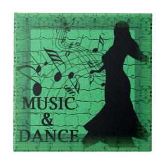 MUSIC & DANCE Tile