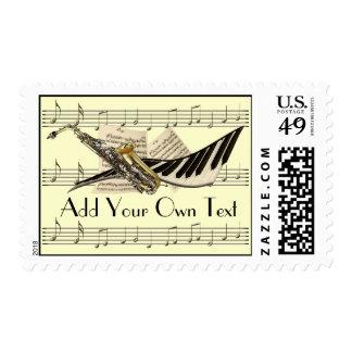 Music Design Customized Postage