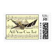 Music Design Customized Postage
