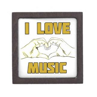 music design keepsake box