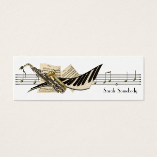 Music Design Mini Profile Cards