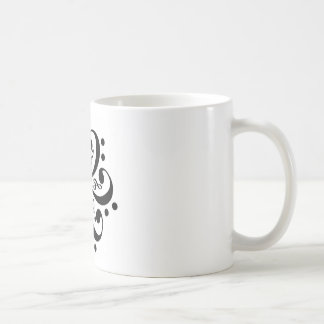 Music Design Coffee Mugs