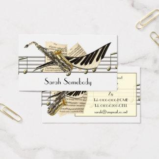 Music Design Profile Cards