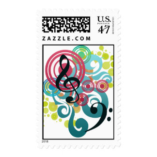 Music Design stamps