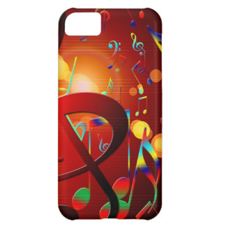Music Destiny Song & Dance Notes Instruments iPhone 5C Case