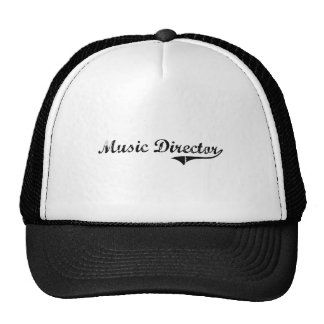 Music Director Professional Job Trucker Hat