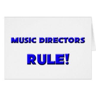 Music Directors Rule! Greeting Card