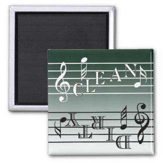 Music Dishwasher Indicator Magnets