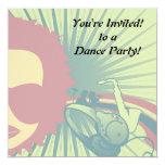 music diva funky pastel colors 2 custom announcements