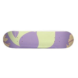 music diva funky pastels skateboard